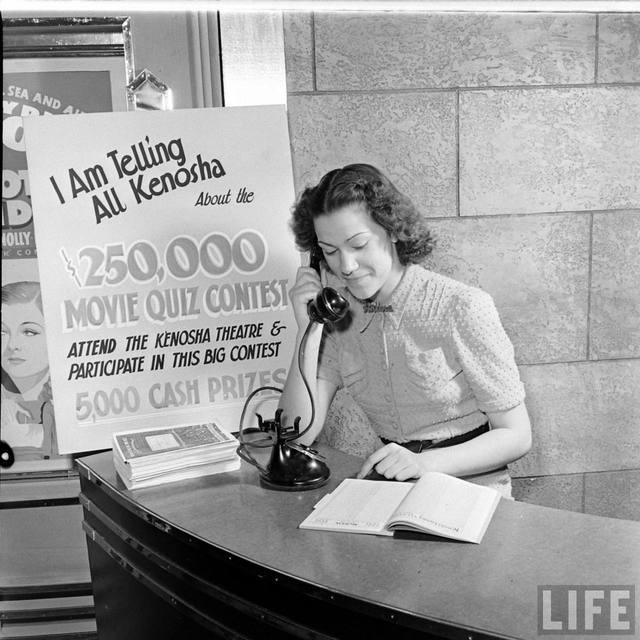 KENOSHA Theatre; Kenosha, Wisconsin: 1938