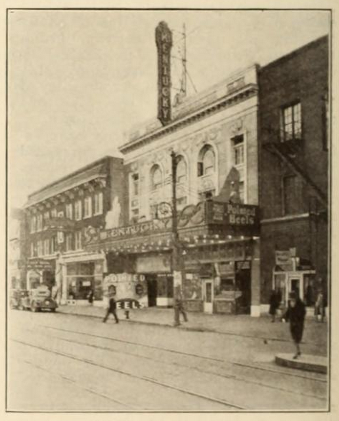 Kentucky Theatre, Lexington, KY in 1930