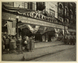 Marquee of the Paramount Theatre, Youngstown, OH in 1930