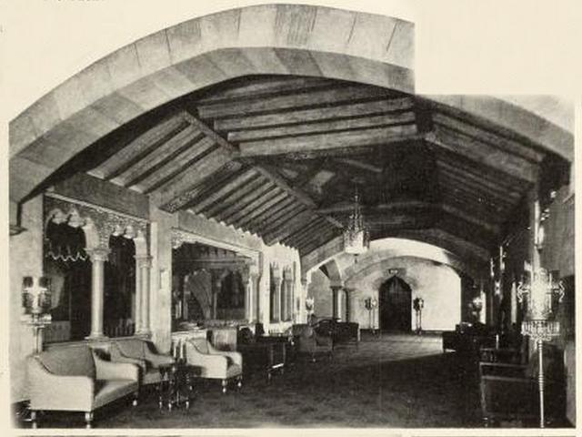 Foyer of the Fox Theatre, Atlanta, GA in 1930