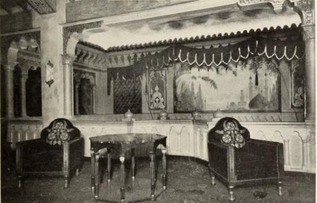 A corner of the Lounge of the Fox Theatre, Atlanta, GA in 1930