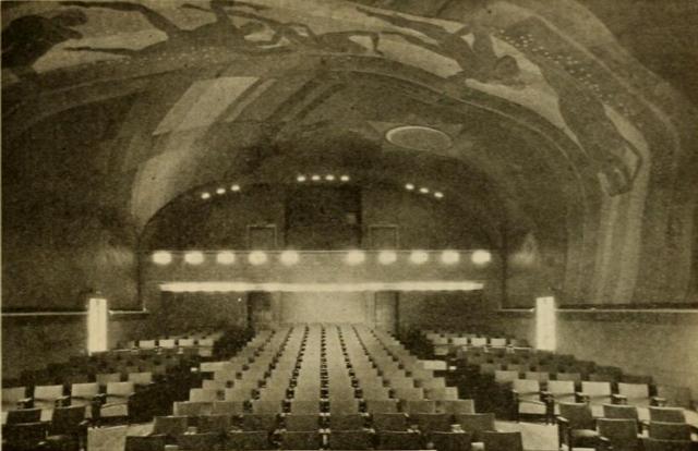 Auditorium of the Cape Cinema, Dennis, MA in 1930