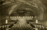 Auditorium of the Cape Cinema, Dennis, MA in 1930