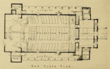 Floor Plan of the Cape Cinema, Dennis, MA in 1930