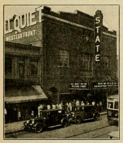 State Theater, East Liverpool, OH in 1930