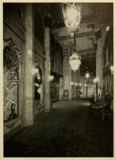 Mezzanine foyer of the Downtown Theatre, Detroit in 1930