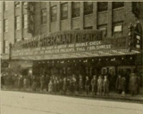 Marquee of the Roger Sherman Theatre, New Haven, CT in 1930