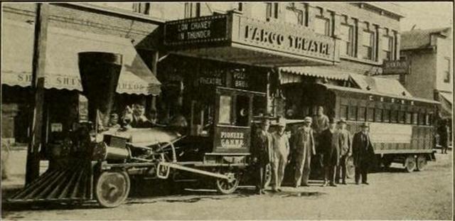 The Geneva Theatre when it was the Fargo in 1930