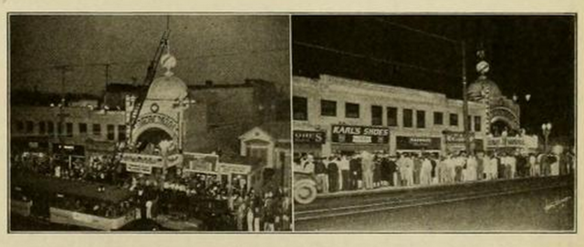 Queues for the Starland Theatre, Los Angeles in 1930