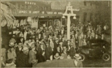 Crowds outside the Golden State Theatre, Riverside, CA in 1930