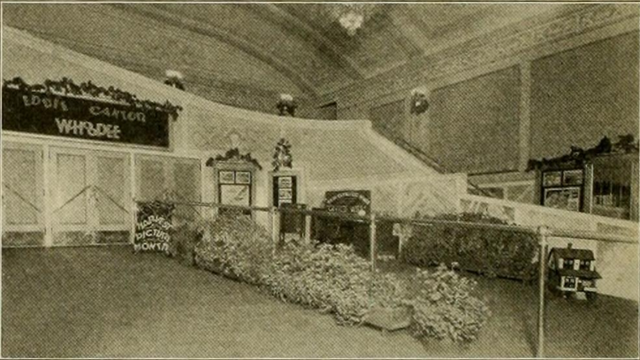 Lobby of the Strand Theater, Altoona, PA in 1930