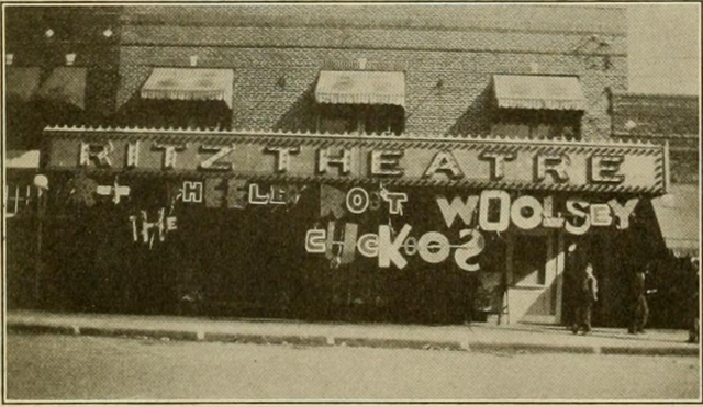 Ritz Theatre, Athens, AL in 1930