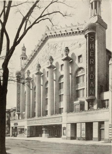 Sheridan Theatre, Chicago, IL in 1928