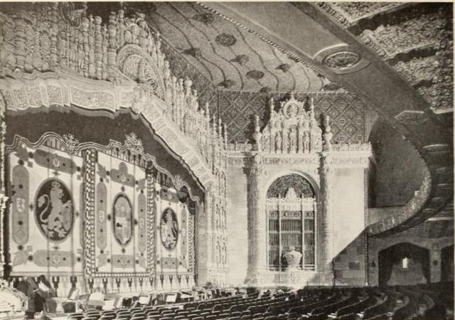 Auditorium of the Indiana Theatre, Indianapolis, IN in 1928
