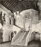 Main staircase of the Indiana Theatre, Indianapolis, IN in 1928