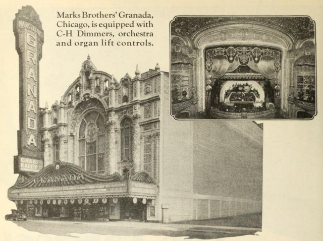 Granada Theater, Chicago, IL in 1928
