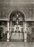 Grand staircase of the Stanley Theatre, Jersey City, NJ in 1928