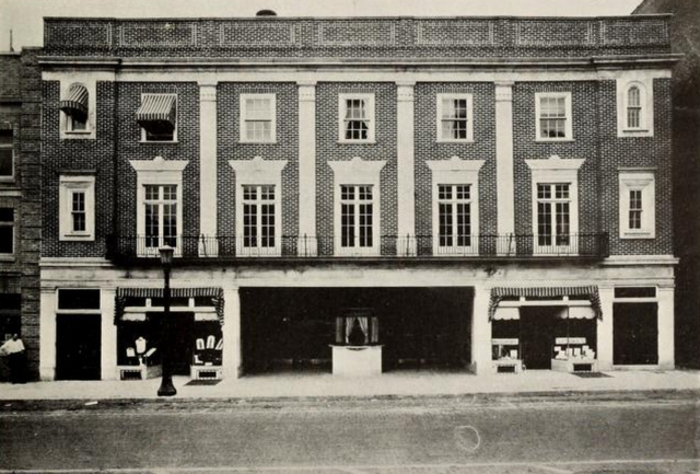 Cathaum Theatre, State College, PA in 1928