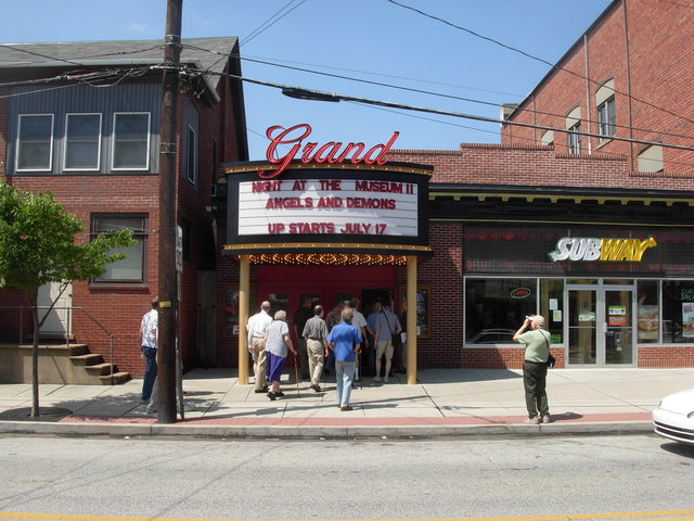 Grand Theatre, E Greenville, PA