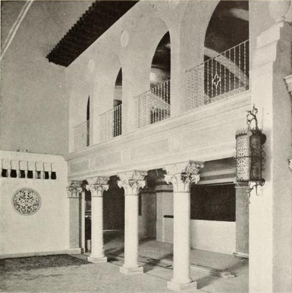 Main lobby of the Granada Theatre, Cleveland, OH in 1928