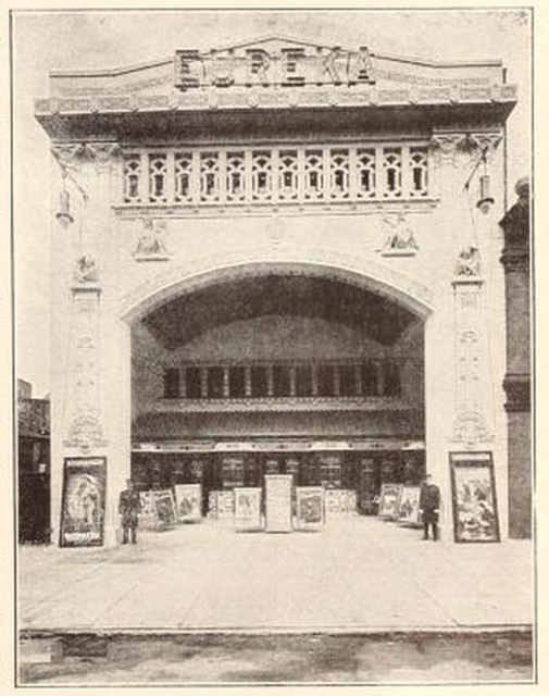 The Eureka Theatre, Philadelphia, PA in 1914
