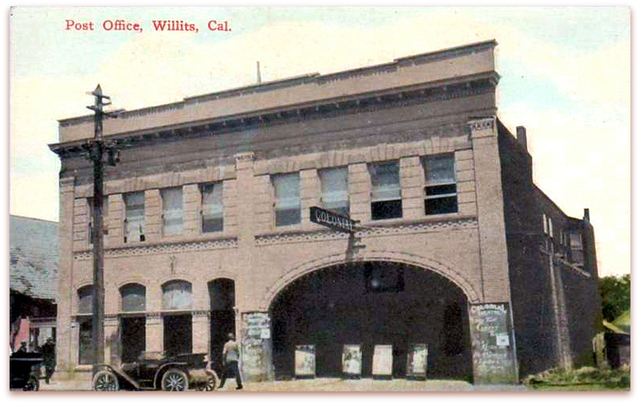 Colonial Theater...Willits California