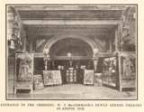 The newly opened Crescent Theatre, Austin, TX in 1914