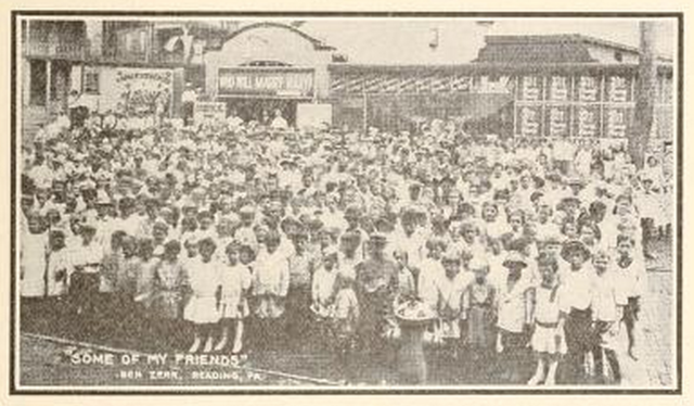 The Schulykill Avenue Theatre, Reading, PA in 1914