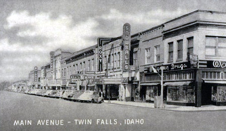 ROXY Theatre; Twin Falls, Idaho.