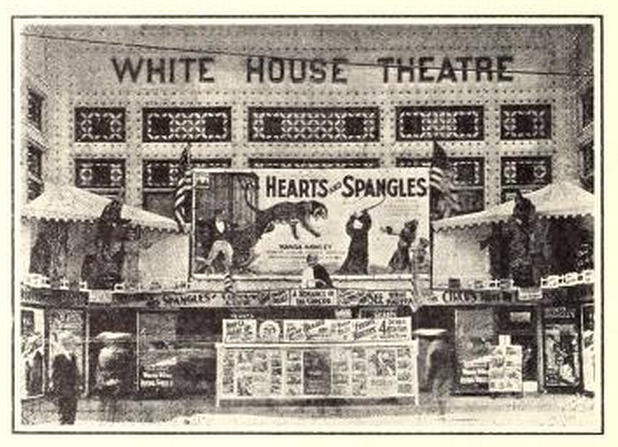 Lobby of the White House Theatre, Milwaukee, WI in 1926