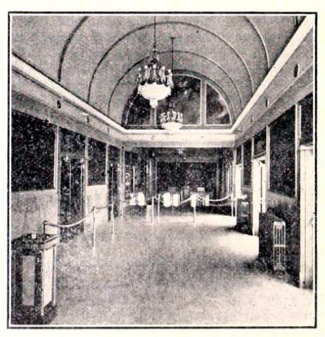 Main  lobby of the Colony Theatre, Washington DC in 1926