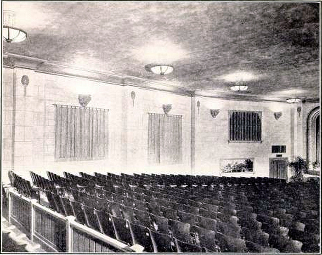 Auditorium of the Uptown Theatre, Seattle, WA in 1926