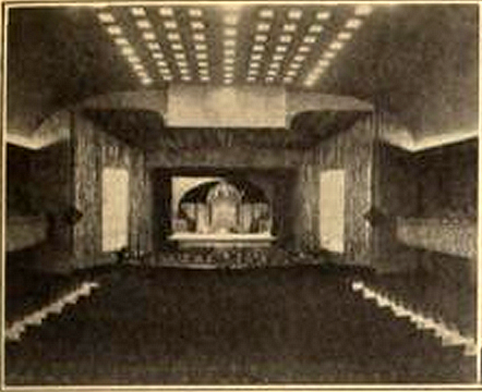 Auditorium of the Palast am Zoo Theatre, Charlottenburg, Berlin in 1926