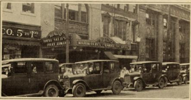 Rialto Theatre, Chattanooga, TN in 1926