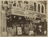 Marquee and lobby of the Crystal Theatre, Los Angeles, CA in 1926
