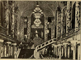 Lobby and Grand Staircase of the Michigan Theatre, Detroit, MI in 1926