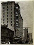 Michigan Theatre, Detroit, MI in 1926