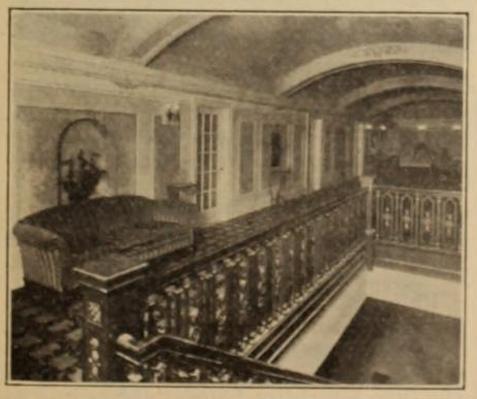 Jayhawk Theatre, Topeka, KS in 1926 - Mezzanine lounge