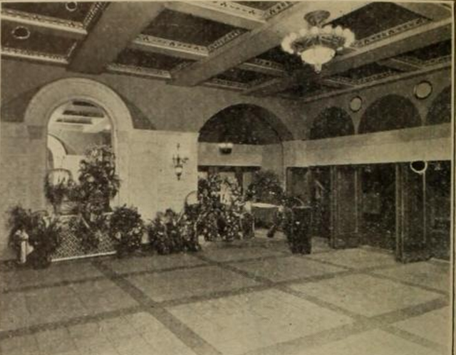 Outer Lobby of the Capitol Theatre, Portchester, NY in 1926