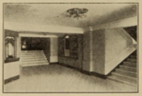 Jayhawk Theatre, Topeka, KS in 1926 - Ticket Booth and entrance to Foyer