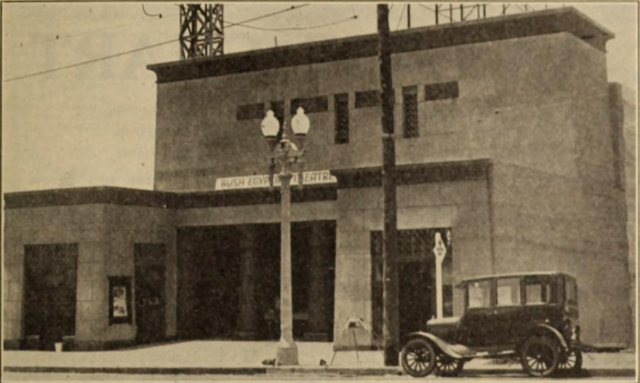 Egyptian Theatre, San Diego, CA in 1926 a few weeks after it's opening.
