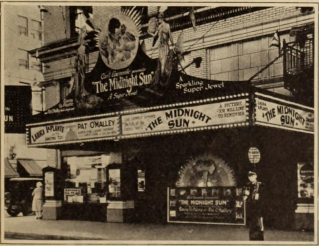 Clemmer Theatre, Spokane, WA in 1926