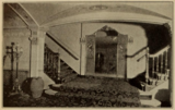 Stadium Theatre, Woonsocket, RI in 1926 - Stairs to Balcony