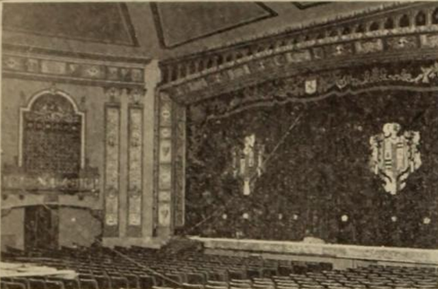 Sanford Theatre, Irvington, NJ in 1926 - Auditorium