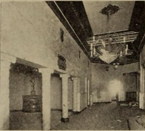 Sanford Theatre, Irvington, NJ in 1926 - Foyer