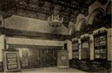 Sanford Theatre, Irvington, NJ in 1926 - Lobby