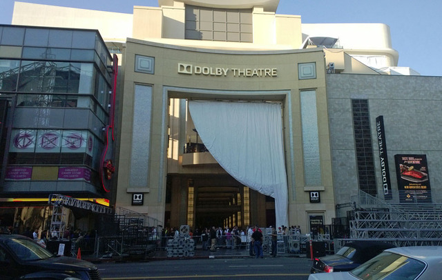 Dolby Theater Oscar Prep