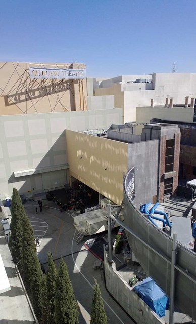 Back of Dolby Theater During Oscars