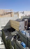 <p>TV control booth trailers behind the Dolby Theater for Oscar telecast</p>