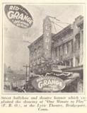 Lyric Theatre, Bridgeport, CT in 1926